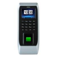Fingerprint Access Control Maschine Teilnahme Access Control Maschine Glas Tür Passwort Access Control System (Eu stecker)-in Elektrische Teilnahme aus Sicherheit und Schutz bei