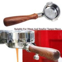 51/58MM 스테인레스 스틸 커피 기계 밑면 필터 홀더 Portafilter 지점 핸들 전문 액세서리 fWholesale