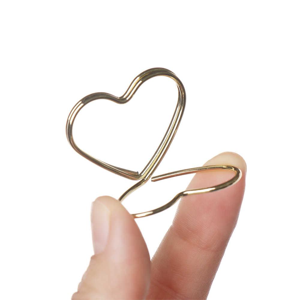 1 pc romântico metal anel de coração forma titular do cartão foto nota clipe mesa número suporte criativo festa casamento decoração casa desktop
