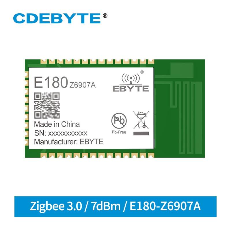 TLSR8269 IoT Wireless Soc Transceiver ZigBee 3.0 Module 2.4GHz 7dBm 130m 32 Bit MCU 512kb PCB Antenna Wireless Transmitter