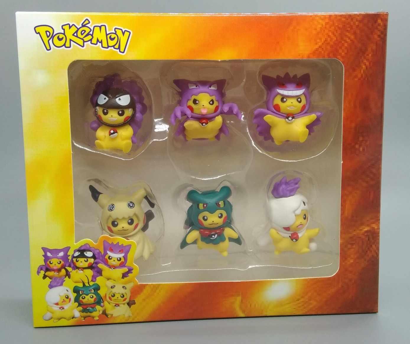 Брелок TAKARA TOMY Pokemon Pikachu Cos Gaigar Mimi Kiu, брелок без ключа, Детский Рождественский подарок