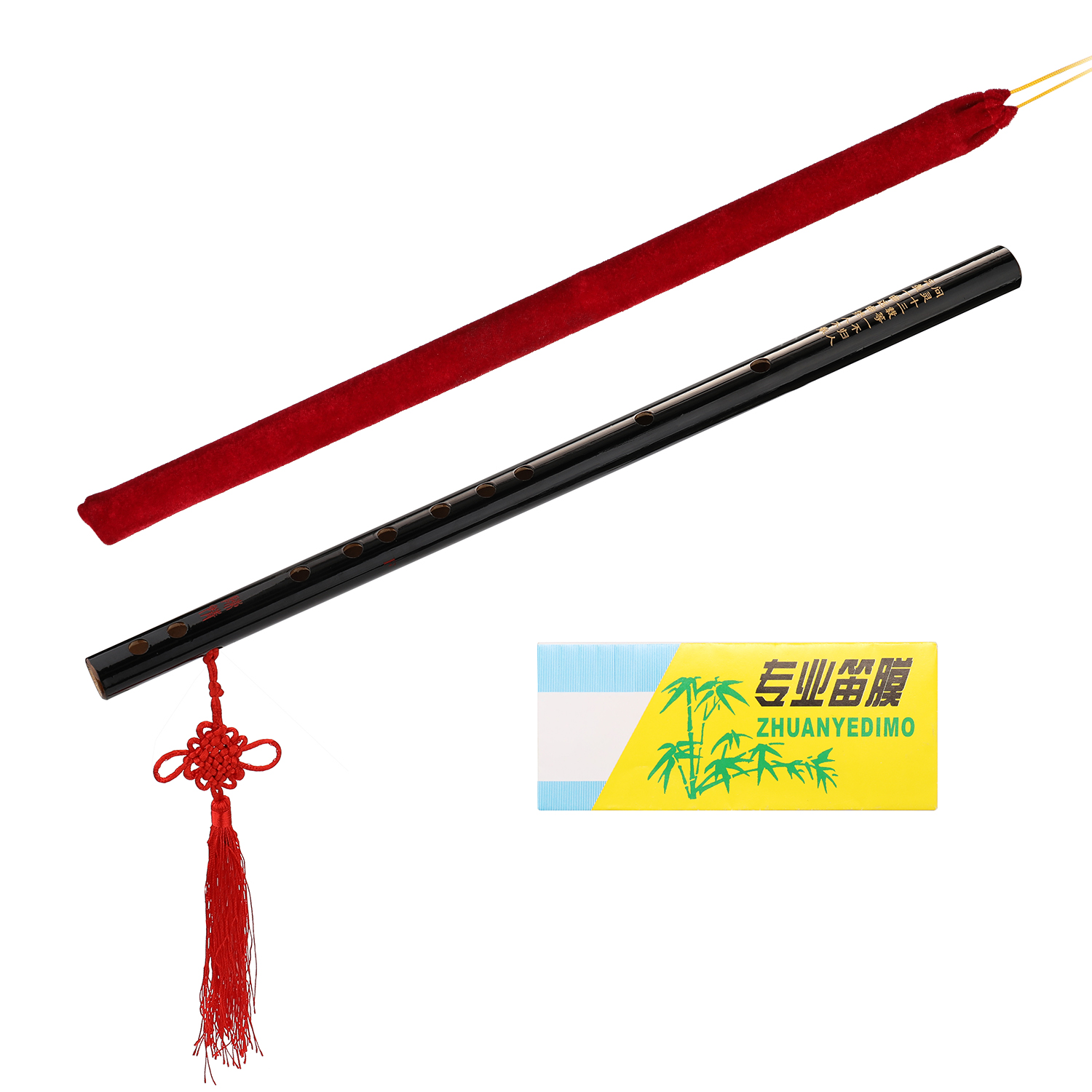 Bamboo Flute Woodwind Musical Instrument Beginner Learner Student Practice Training Traditional Handmade Bamboo Flutes