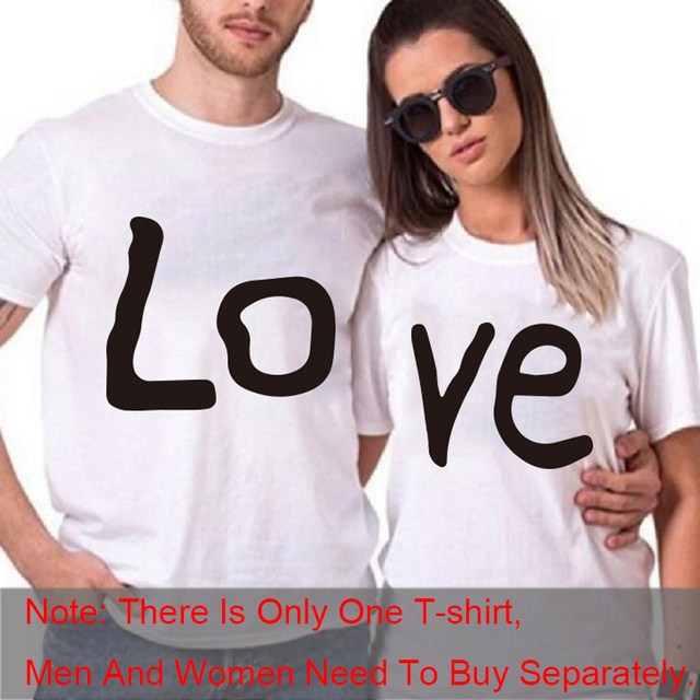 Couple t-shirt summer couple love
