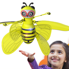 Bee-Ufo-Toys Drone Flying-Ball Hand Helicopter-Quadrocopter Induction-Fairy Bee-Drones-Gifts