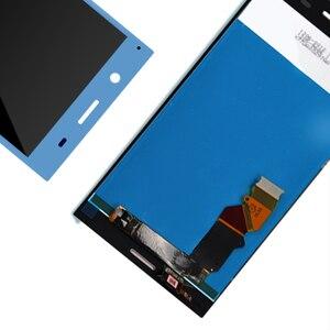Image 5 - الأصلي lcd لسوني اريكسون XZ قسط LCD تعمل باللمس رقمنة الزجاج لوحة الجمعية مع الإطار شحن مجاني
