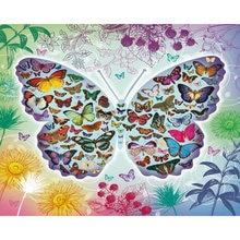 Diy картина по номерам бабочка Раскраска Животные 40 х 50 см