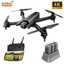Global Drone GW106 4K Drone Selfie Dron RC Drone X Pro FPV Quadcopter drony z kamerą HD Quadcopters postawy polityczne w SG106 E58 E520