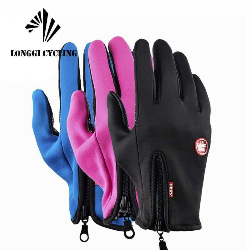 Unisex Touchscreen Winter Thermal Warm Gloves Bike Cycling Bicycle Ski Outdoor