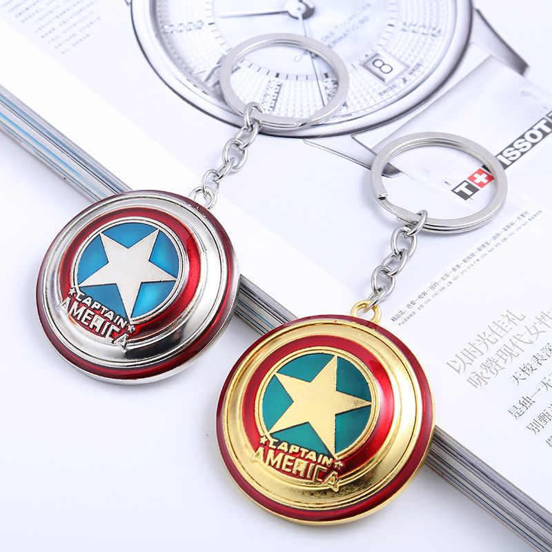 Nhân Vật hành động Kim Loại Móc Khóa Siêu Anh Hùng Marvel Iron Man Captain America Người Hulk Thor Hình Đồ Chơi Dành Cho Trẻ Em Móc Khóa