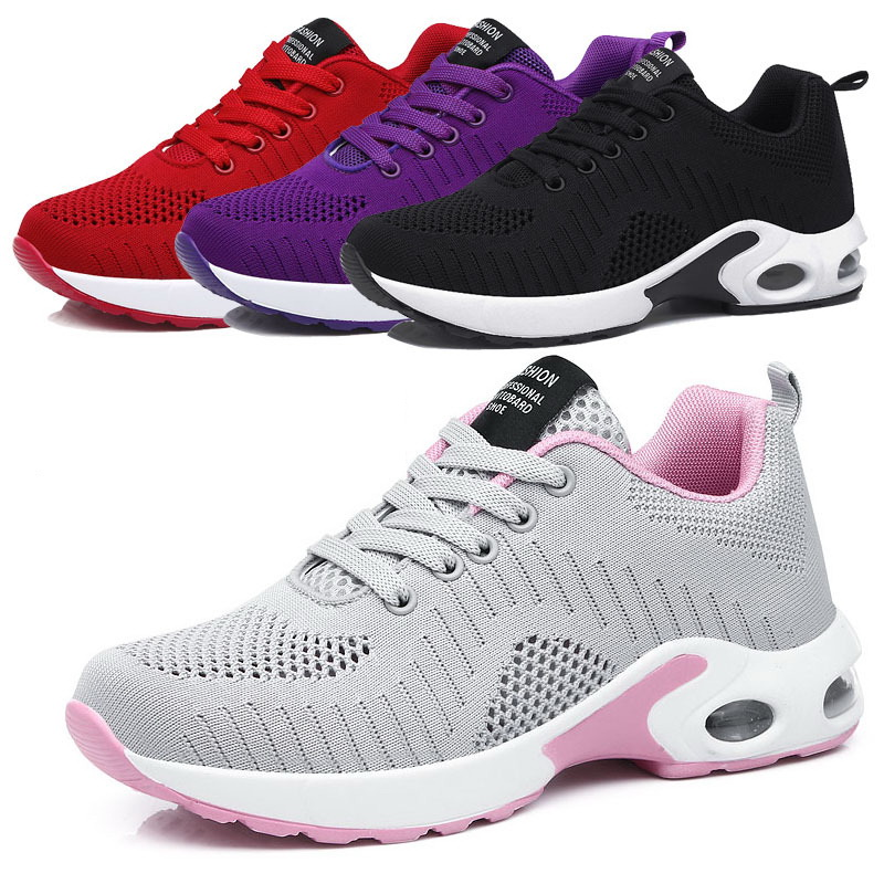 Cushioning Red Women Sneakers Mujer Casual Shoes 2020 Professional Sport Shoes Woman Breathable Female Walking Trainers Purple 1