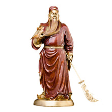MOZART Guan Gong God Of Wealth Raises The Knife Guan Gong Pure Copper Martial God Of God Guan Yu Statue Feng Shui Offering gong show
