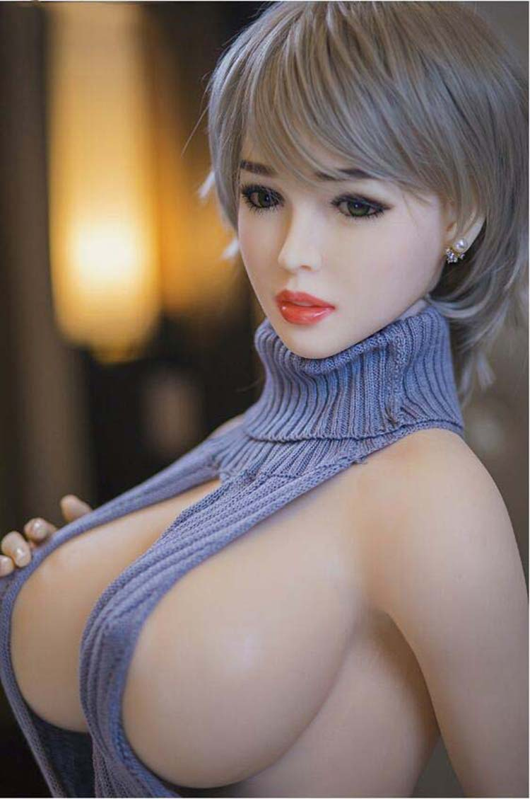 170cm <font><b>18</b></font># Adult Life Big Breast Vagina Sex Toys for Men Tpe <font><b>Sexy</b></font> Dolls Full Size Silicone with skeleton Love Doll Free Shipping image