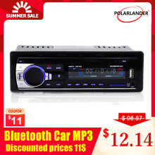 1 Din Mobil Radio Stereo Player Bluetooth Phone AUX-IN MP3 Listrik 12V Mobil Audio Auto Radio Radio Kaset Auto Tape magnet 520(China)
