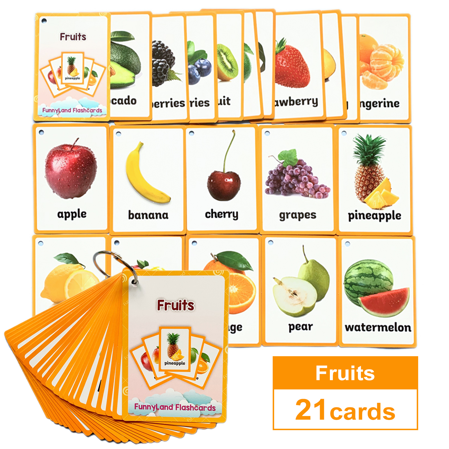 Word-Card Table-Game-Card Flash Educational-Toys Montessori Learning Baby Kids Children