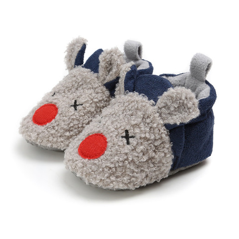 Kid Slippers All-Inclusive Cotton Cartoon Soft Home Indoor Baby Cotton Slippers Baby Boys Girls Shoes Warm Home Slippers Karachi