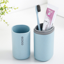Toothbrush Holder Portable Toothpaste Double Washing Cup High Capacity Hiking Storage Box Travel 2019 Case