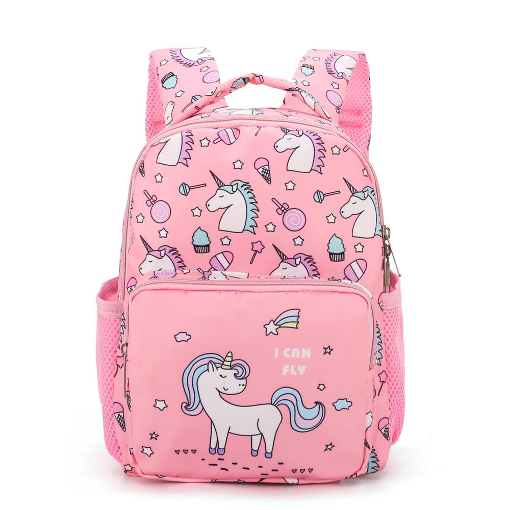 New Cute Cartoon Children School Bags For Girls Boys Kids Backpacks Kindergarten Schoolbag Unicorn Kids Bag Mochila Infantil