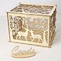 Подарочная коробка для свадебной открытки DIY  пустотелая Подарочная коробка для свадебной детской вечеринки GHS99
