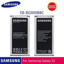 SAMSUNG batería Original EB BG900BBU, EB BG900BBC, 2800mAh, para Samsung Galaxy S5, G900S, G900F, G900M, G9008V, 9006V, 9008W, 9006W, G900FD