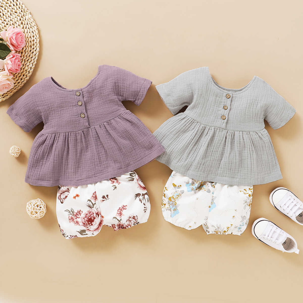 FOCUSNORM Newborn Baby Girls Halloween Net Letter Romper Ruffle Pleated Shorts Set Clothing Outfits