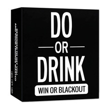 The New Board Game Card DO OR DRINK Board Games Drinking Game Freeshipping