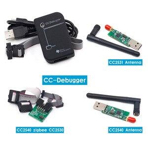 CC2531 Zigbee эмулятор CC-Debugger USB программист CC2540 CC2531 Sniffer с антенной Bluetooth модуль коннектор кабель-загрузчик
