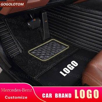 Custom Car Floor Mats for Mercedes Benz B Class Klasse Clase B B180 B200 B250 W245 w246 w242 w247 B 150 160 170 180 200 220 250