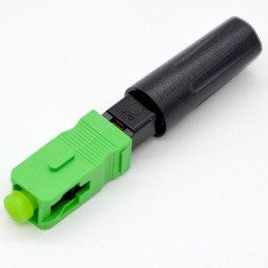 Image 2 - GONGFENG conector rápido de fibra óptica FTTH, 100 Uds., nuevo conector rápido de grado portador de modo único integrado, venta al por mayor especial