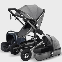 Luxury Baby Stroller High Landview 3 in 1 Baby Stroller Port