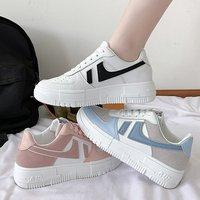 2021 Womens Sneakers Casual Walking Sports Female Lady Running Shoes Women Platform Flat Shoes Feminine Zapatillas De Deporte 1