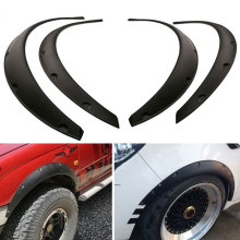 4Pcs OE Styled Car Mud Flaps for Universal Truck Mudguard Auto Front Rear wheel Black Plastic Guard Fender