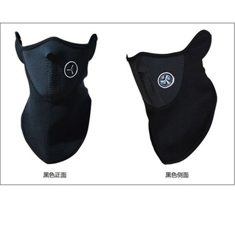 Outdoor Masks Dust Neoprene Neck Warm Half Face Mask Winter Sport Mask Windproof Bike Bicycle Cycling Mask Ski Snowboar