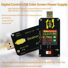 Регулируемый USB преобразователь постоянного тока, CC CV 0,6 30 в 5 в 9 в 12 В 24 В 2 а 15 Вт