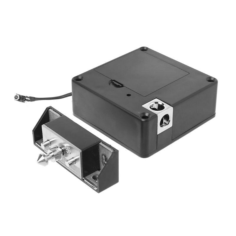 Cabinet Invisible Electronic RFID Lock Hidden Keyless Drawer Door Locks Sensor Locker X4YD