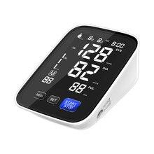 2021new design braço monitor de pressão arterial oem odm fábrica diretamente fornecer bp manguito monitor lcd digital esfigmomanômetro