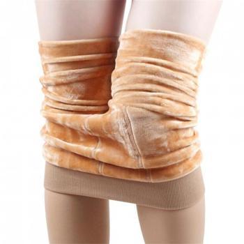 CHRLEISURE Winter Warm Leggings Women High Waist Push Up Girl High Elastic Thicken Velvet Leggings Thermal Legging For Women 2
