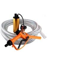 Mini 12/24V Diameter Electric Water Car Camping Submersible Transfer Oil Pump Aluminium Alloy Belt Filter Net