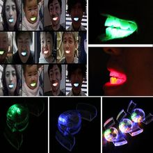 Toys Luminescent-Toys Tooth Children Led-Light Glow Party Kids Halloween Flash-Braces