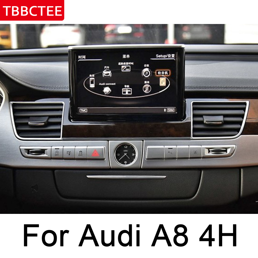 For <font><b>Audi</b></font> <font><b>A8</b></font> <font><b>4H</b></font> 2011~2018 MMI Andrid Car Multimedia Player Auto radio gps Navi Map WiFi original style Bluetooth head unit image