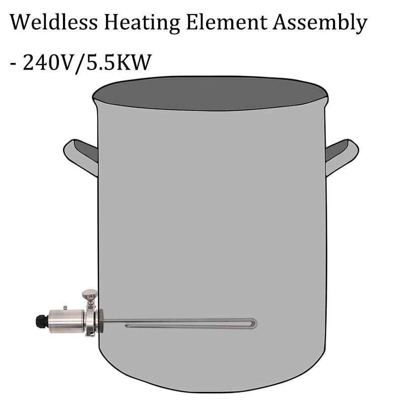 Бесшовный нагревательный элемент в сборе 1,5