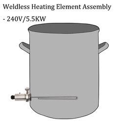 Conjunto de elemento de aquecimento sem solda 1.5
