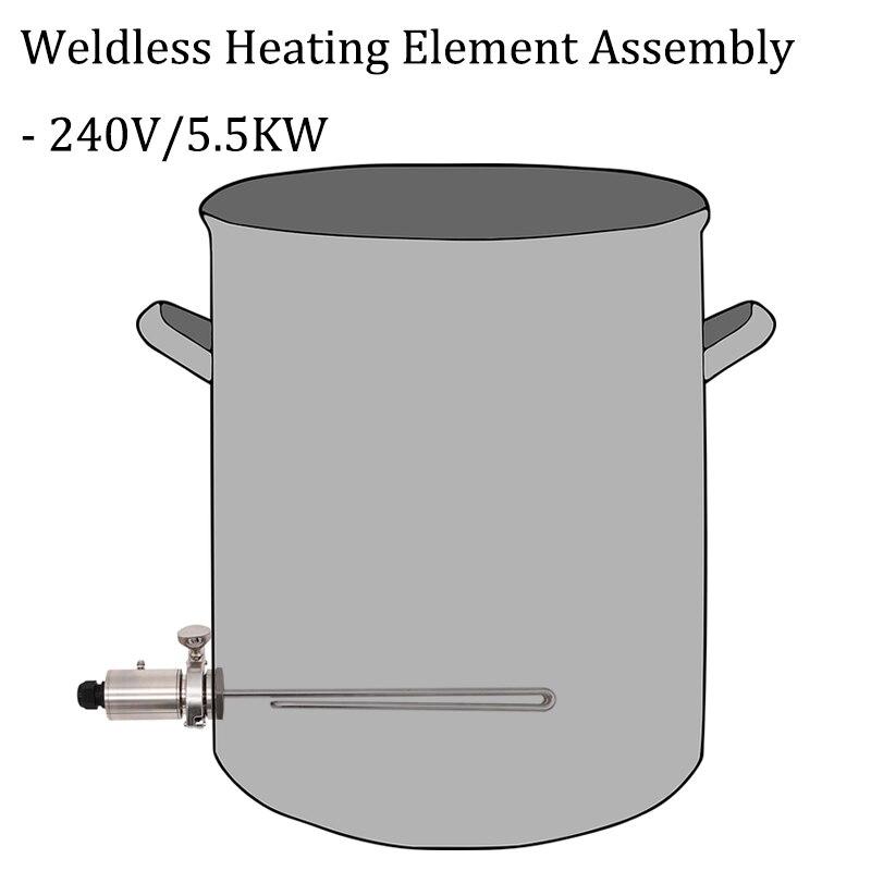 Weldless องค์ประกอบความร้อน ASSEMBLY 1.5