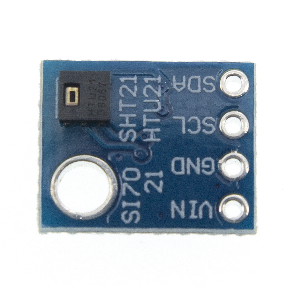 GY-21 HTU21D IIC/I2C Digital Temperature & Humidity Sensor Breakout Board Module For Weather Stations Humidor Control 3.3V