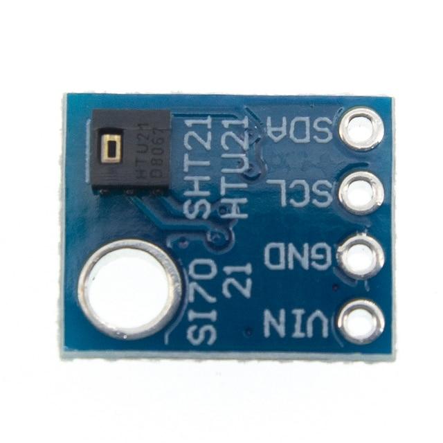 GY 21 HTU21D IIC/I2C الرقمية درجة الحرارة والرطوبة الاستشعار لوحة القطع وحدة لمحطات الطقس هوميدور التحكم 3.3 فولت