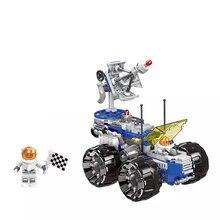 Space shuttle vehicule d exploration spatiale Building Blocks explore kids toys Model kit Bricks Educational Toys for Children стоимость