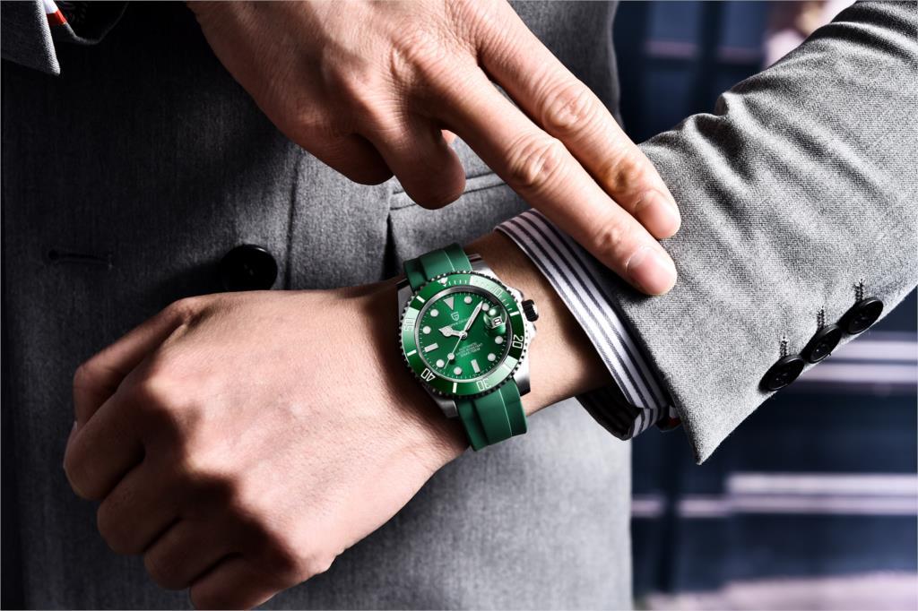 Pagani design 2021 neue sapphire glass 40mm