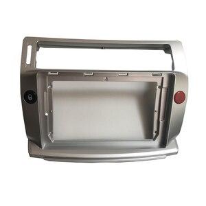 Image 2 - HACTIVOL 2 Din Car Radio face plate Frame for Citroen C Quatre 2004 2009 Car DVD GPS player panel dash mount kit car accessories