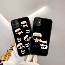 Fashion luxury brand Famous Designer Phone Case For iPhone 11 12 Pro XR XS Max 8 7 6 Plus 6S SE 2020 TPU Cases Soft Back Cover