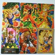 32pcs/set New Super Dragon Ball Z Hot stamping process Heroes Battle Card Ultra Instinct Goku Vegeta Game Collection Anime Cards
