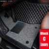 Sunny Vos Auto Vloermatten Voor Honda Accord 7th 8th 9th Generatie Hrv Vezel Fit Crv CR-V Stad 5D Auto -Styling Tapijt Tapijten Liners